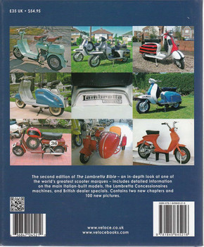 The Lambretta Bible - All Models Built in Italy 1947 - 1971 - 2nd Edition