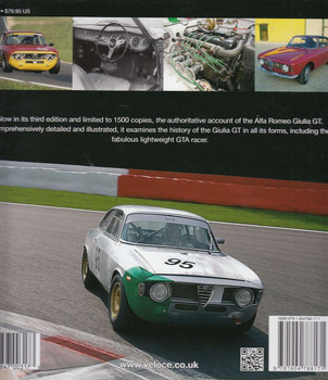 Alfa Romeo Giulia GT & GTA - Enlarged & revised 3rd edition Back Cover
