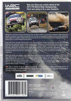 FIA World Rally Championship 2013 NTSC 2 DVD Set Back