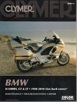 BMW K1200RS, K1200GT and K1200LT 1998 - 2010 Workshop Manual