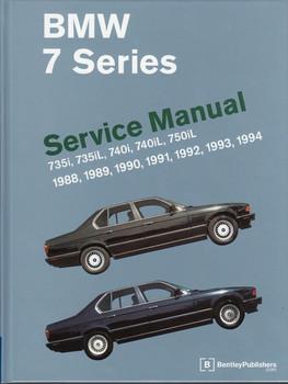BMW 7 Series E32 735i, 735iL, 740i, 740iL, 750iL 1988 - 1994 Workshop Manual