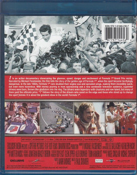 1 The Movie (Formula One) Blu-ray Back Cover