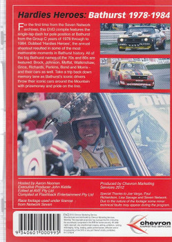 Hardies Heroes: The Group C Years DVD Back Cover