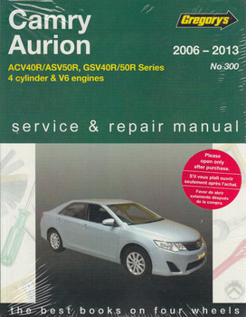 Toyota Camry & Aurion Manual
