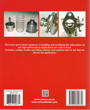 The SU Carburettor High-Performance Manual Back Cover