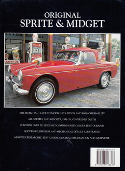 Original Sprite & Midget The Restorer's Guide Back Cover