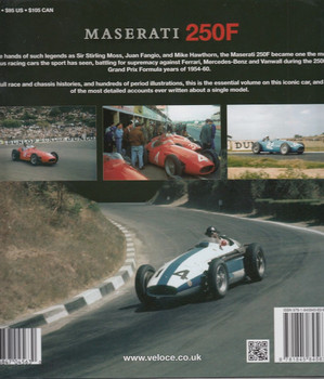 Maserati 250F In Focus Back Cover