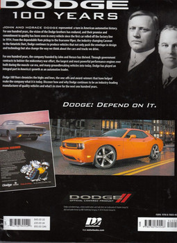 Dodge 100 Years Back Cover