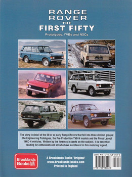 Range Rover the First Fifty: Prototypes, YVBs and NXCs Back