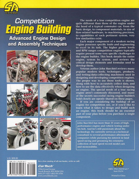 Competition Engine Building Back Cover