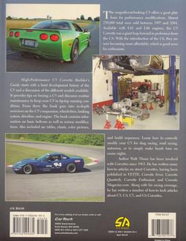 High-Performance C5 Corvette Builder's Guide Back Cover