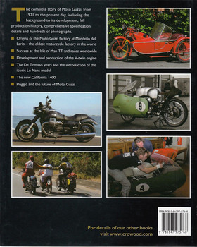 Moto Guzzi The Complete Story Back Cover