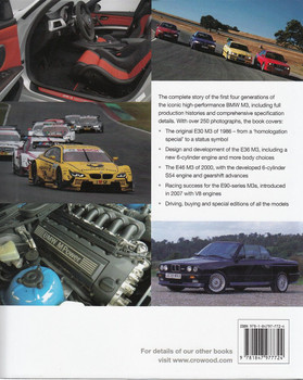 BMW M3 The Complete Story Back Cover
