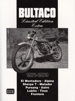 Bultaco Limited Edition Extra 1971 - 1979