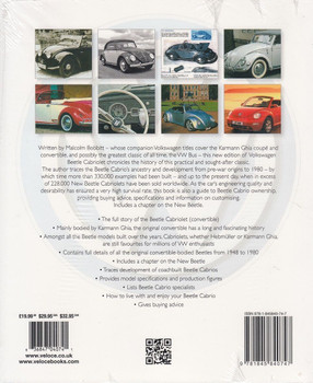 Volkswagen Beetle Cabriolet – The full story of the convertible Beetle Back Cover