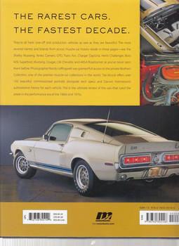 Top Muscle The Rarest Cars from America's Fastest Decade Back Cover