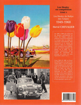 Les Healey du Rallye des Tulipes 1949 - 1968 (English & French Text) Back Cover