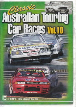 Classic Australian Touring Car Races Vol. 10 DVD
