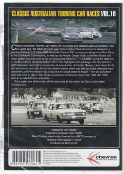Classic Australian Touring Car Races Vol. 10 DVD Back Cover