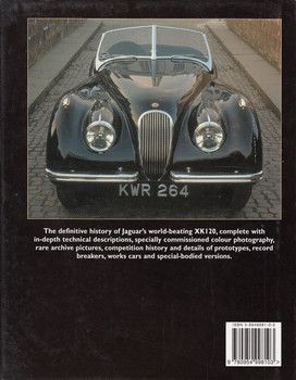 Jaguar XK120 In Detail Back Cover