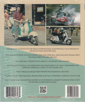SCOOTER MANIA! - Recollections of the Isle of Man International Scooter Rally Back Cover