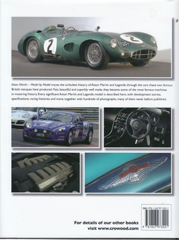 Aston Martin Model by Model Back Cover