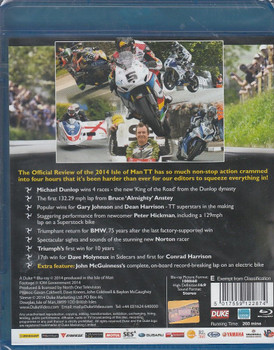 Isle of Man TT Official Review 2014 Blu-Ray