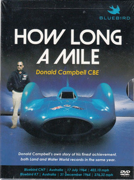 How Long a Mile - Donald Campbell's Own Story DVD