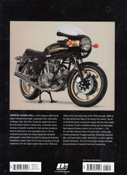 The Art of Ducati Back Cover