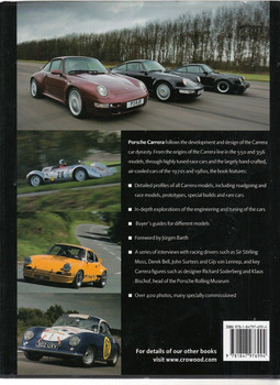 Porsche Carrera The Air-Cooled Era 1953 - 1998 Back Cover