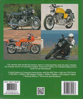 The Laverda 650 & 750cc Twins and 1000 & 1200 Triples Bible Back Cover