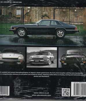 The Book of the Jaguar XJ-S Back Cover