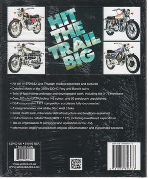 BSA Motorcycles - The Final Evolution Back Cover