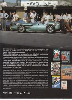 Grand Prix Zandvoort Back Cover
