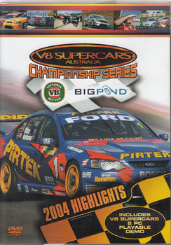 V8 Supercars Championship Series: 2004 Highlights DVD