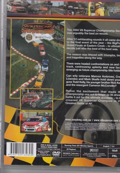 V8 Supercars Championship Series: 2004 Highlights DVD Back Cover