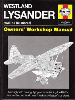 Westland Lysander 1936 - 1946 (all marks) Owners' Workshop Manual