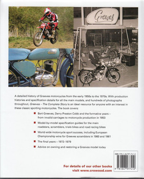 Greeves The Complete Story Back Cover