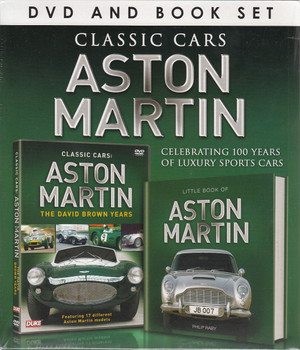Classic Cars Aston Martin: Celebrating 100 Years of Luxury Sports Cars (DVD and Book Set)
