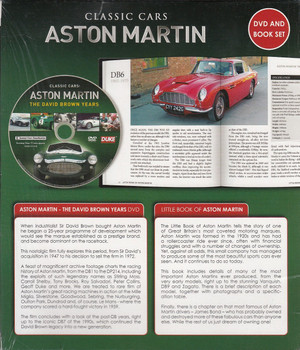 Classic Cars Aston Martin: Celebrating 100 Years of Luxury Sports Cars (DVD and Book Set) Back Cover