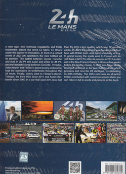 2014 Le Mans 24 Hours: Official Book Back Cover