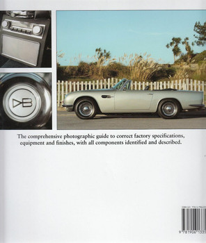 Factory-Original Aston Martin DB4/5/6 Back Cover