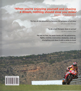 Marc Marquez - Dreams Come True: My Story Back Cover