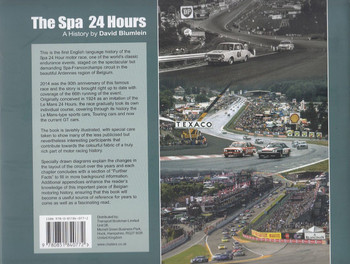 The Spa 24 Hours: A History Back Cover