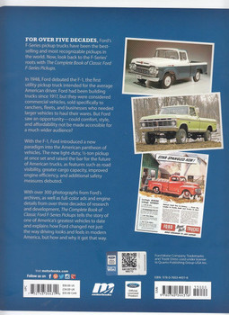 The Complete Book of Classic Ford F-Series Pickups back Cover