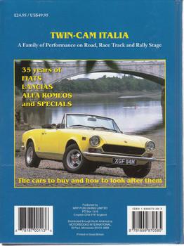 Twin Cam Italia - Fiat, Lancia, Alfa Romeo Back Cover