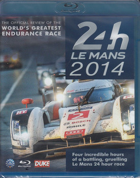Le Mans 2014: The Official Review bluray