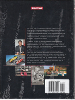 Carrera 50 Years on Track Back Cover
