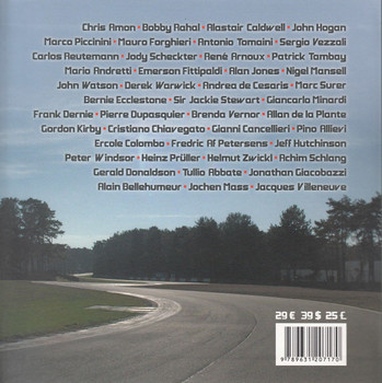 Gilles Villeneuve: Hist Untold Life from Berthierville to Zolder Back Cover