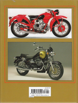 Moto Guzzi Motorcycles: Since 1921 Back Cover